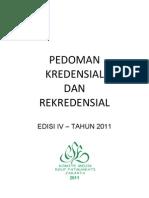 Dody Firmanda 2011 - Komite Medik RSF - Pedoman Kredensial dan Rekredensial