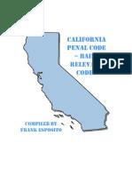California Penal Code - Bail Relevant
