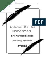 Detta Ar Er Mohammad ( Swedish )