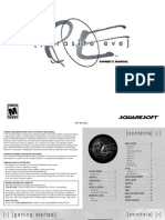 Parasite Eve I Manual
