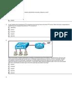 Cisco Networking Academy Program - CCNA1 3.1.1 FINAL EXAM #1
