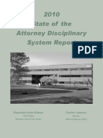 Attorney Disciplinary Report