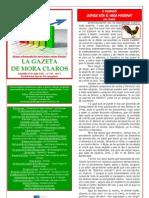 La Gazeta de Mora Claros nº 119 - 22072011