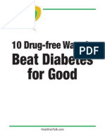 10 Ways To Beat Diabetes