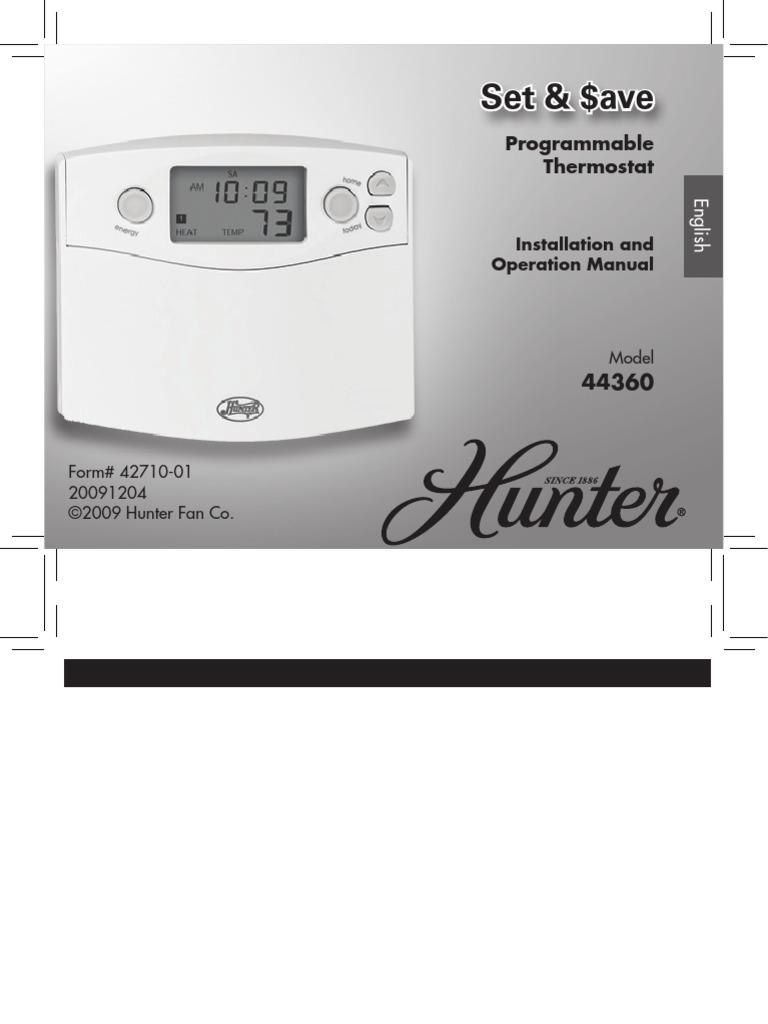 Thermostat 44360 | Thermostat | Hvac