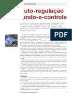 (Blader, Tyler, 2005) Auto RegulacaoXcomando e Controle