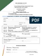 MIM DAI Licence 11-12