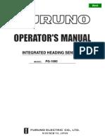 PG1000 Operator's Manual H2  11-7-03