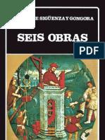 de Sigüenza y Góngora, Carlos-Seis Obras
