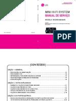 SISTEM LG MCD605 - MANUAL DE SERVIÇO