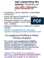 [PowerPoint version - slides] - Occupational Core Profiles - as European approach, paradigm shift or alternative to actual ECVET concepts? A critical discussion