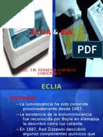 electroquimioluminiscencia y enzimoinmunoanalisis