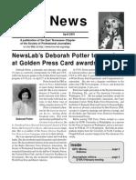 April 2001 Spot News