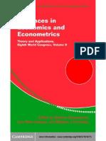 Advances on Economics and Eco No Metrics 2