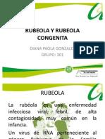Rubeola y Rubeola Congenita