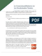OIA.relaciones Craneomandibulares en Pacientes dos Totales