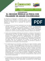 (Bol 205 - 2011) El Incoder Regula La Pesca Con Palangre en Aguas Colombianas[1]
