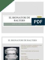 El Bionator de Balters