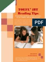 TOEFL iBT Reading Tips