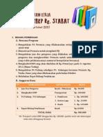 Rencana Program Kerja Permata Gbkp