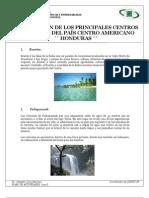 5_HONDURAS_Principales centros turisticos