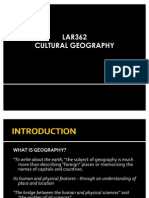 Lar362 Cultural Geography