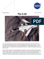 Nasa Facts the X-29 2003