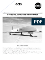 NASA Facts X-34 Technology Testbet Demonstrator