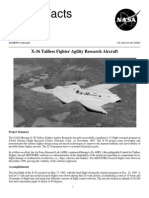 NASA Facts X-36 Tailless Fighter Agility Research Aircraft 2002