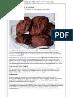 Galletas de Chocolate y Cereza