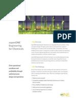 AspenONE Engineering for Chemicals Brochure