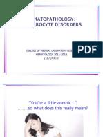 Erythrocyte Disorders