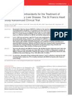 in and Antioxidants for the Treatment of NAFLD