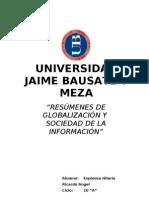 Globalizacion Final