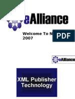 XML Publisher Presentation