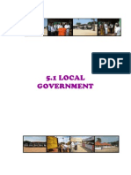 (5) Local Government