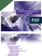 Hostel Management Sysyem
