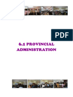 (6) Public Administration