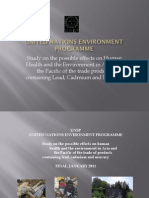 UNEP -CFLs Mercury Case Study in Philippines 2011