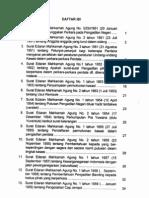 Surat Edaran Mahkamah Agung (SEMA 1951-1971)