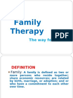 Family Therapy (by Dare Consultant)