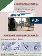 Adoquines Vehiculares Calle 27 PDF