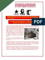 25 AÑOS DE PREPOTENCIA Y NEGLIGENCIA DESDE LA COMUNA CAPITALINA