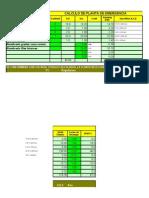 (2) Cálculo de Planta de Emergencia 2004
