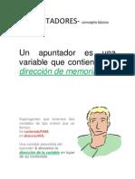 apuntadoresCONCEPTOS-BASICOS
