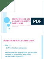 3.-DEFINCIÓN DEL ALCANCE DE LA INVESTIGACIÓN A INVESTIGAR