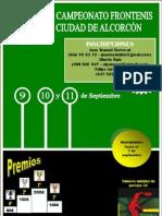 Cartel Torneo 2011