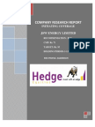 JSWEnergy Hedge 090511