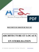 ARCHITECTURE ET LOCAUX EN STERILISATION