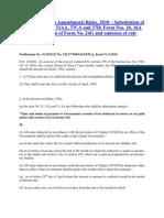 Income-Tax (Sixth Amendment) Rules, 2010